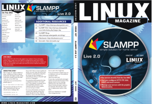 SLAMPP 2.0 Live DVD Inlay